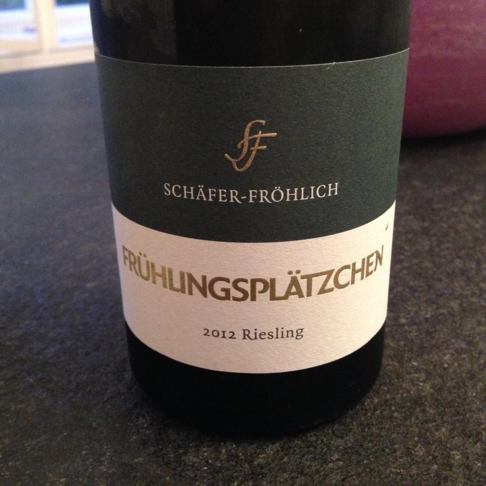 Schäfer-Fröhlich 2012 Frühlingplätzchen Riesling