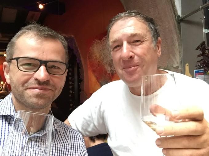 Joerg Hahn und Philip Blanck